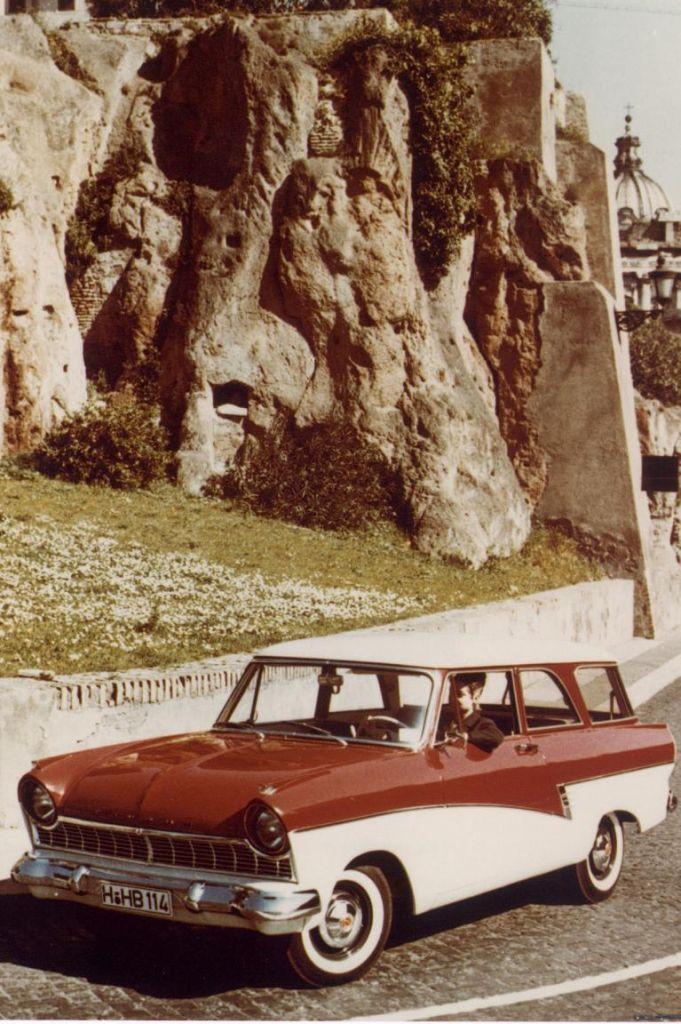 Ford Taunus - Von der Badewannen zum fliegenden Teppich