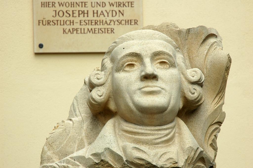 Gedenkstein für Joseph Haydn in Eisenstadt.