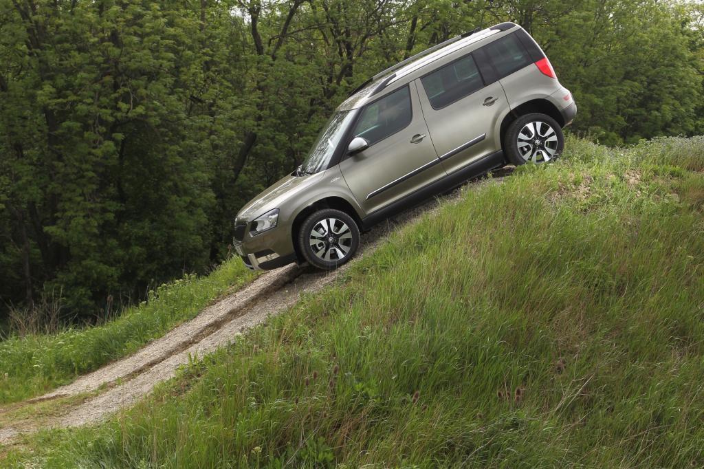 Gut 43 Prozent aller Yeti-Modelle werden von ihren Kunden mit Allradantrieb geordert, die dafür bereitwillig 1.800 Euro Aufpreis in Kauf nehmen.