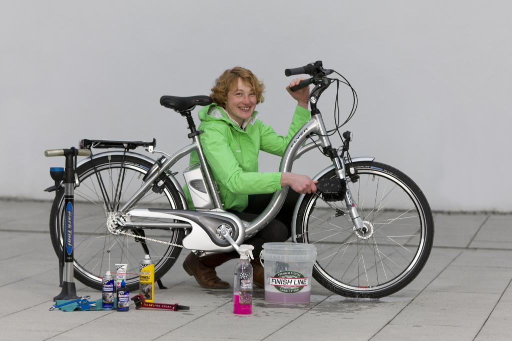 Gut ausgerüstet für die nächste Fahrradtour