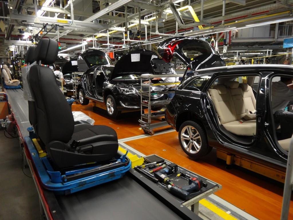 Heimische Autoproduktion legt zu