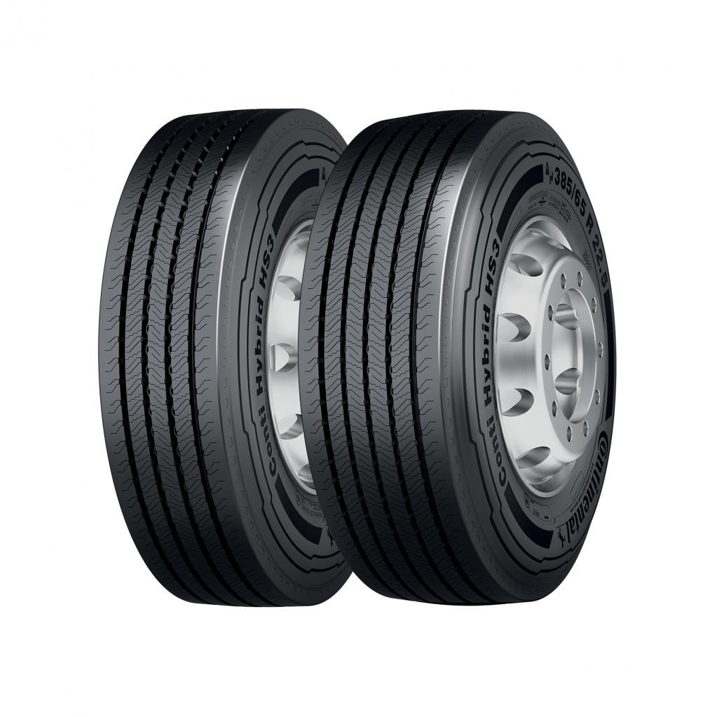 Hybrid-Reifen: Runde Sache für Lkw