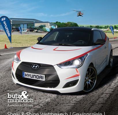 Hyundai-Treffen in der Eifel