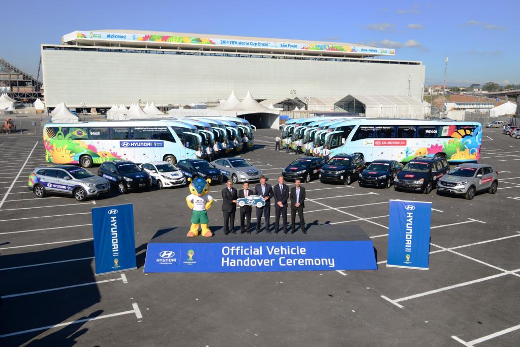 Hyundai macht die Fußball-WM mobil