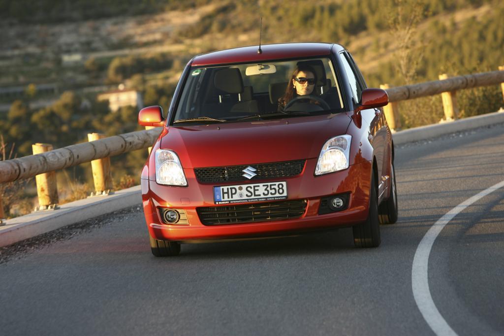 In Aussehen und Fahreigenschaften ist der Suzuki Swift (2005 bis 2010) noch aktuell