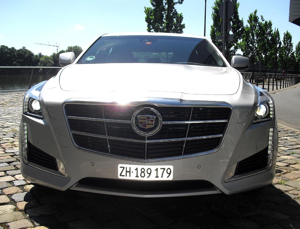Jüngste Cadillac-Produktneuheit: Premiumlimousine CTS.