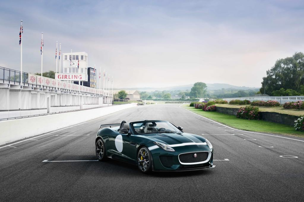 Jaguar Project 7 in Goodwood