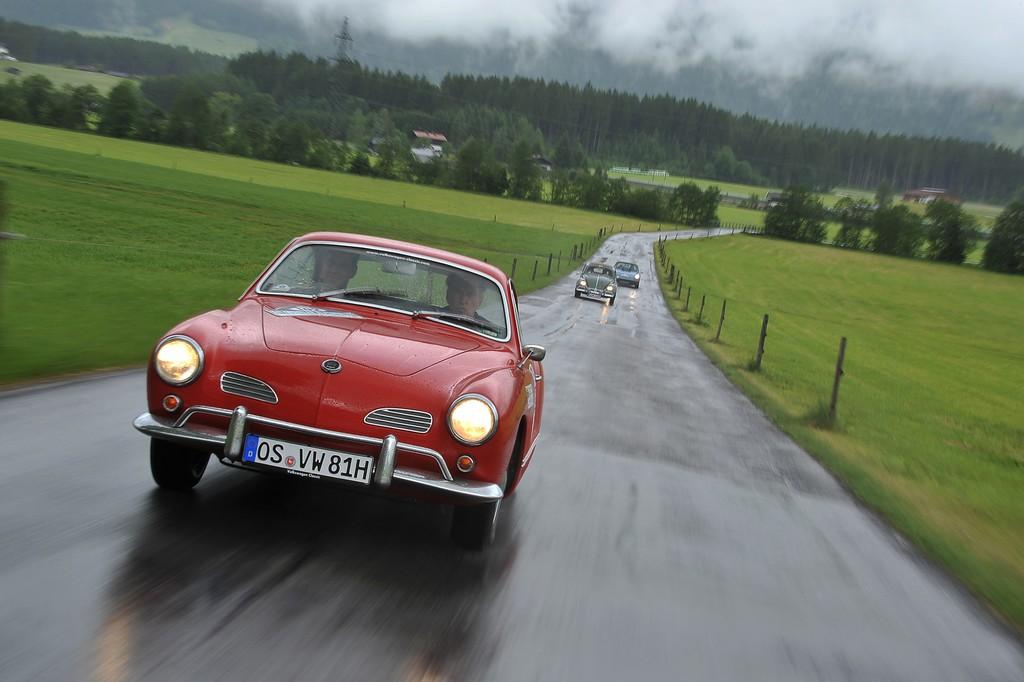Kitzbüheler Alpenrallye: Altmeister Stuck in neuer Rolle