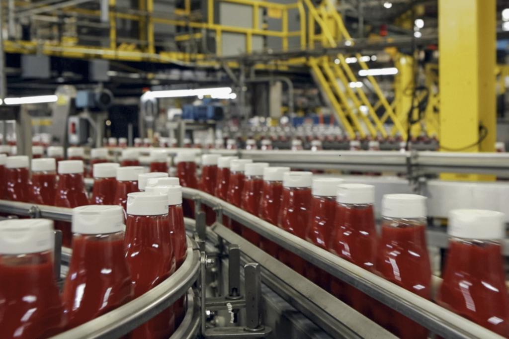 Kunststoffe aus Tomatenresten will der Automobilhersteller Ford nun gemeinsam mit dem Ketchup-Produzenten H.J. Heinz Company entwickeln.