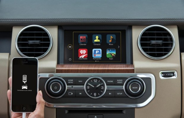 Land Rover Discovery - Jetzt auch mit Apps