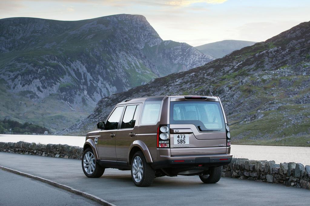 Land Rover Discovery fährt aufgewertet ins Jubiläumsjahr