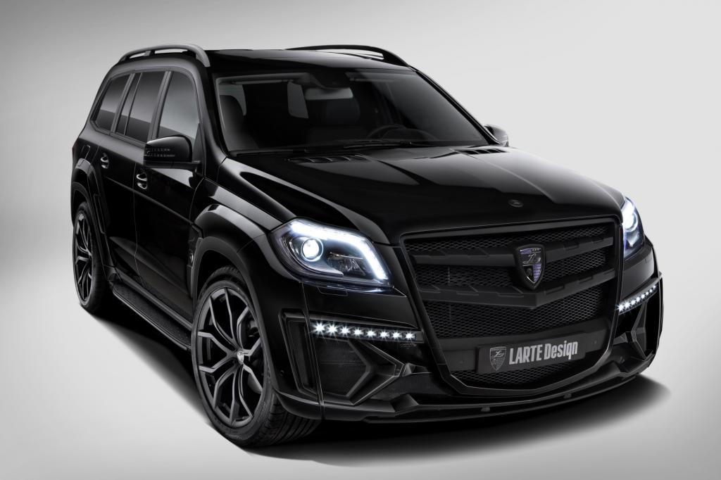 Larte Design Mercedes GL Black Crystal - Die dunkle Seite der Straße