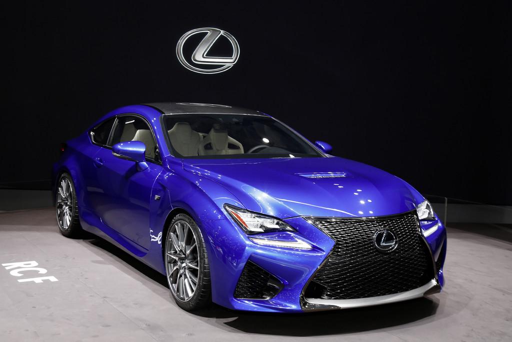 Lexus RC F gibt sein Deutschlanddebüt