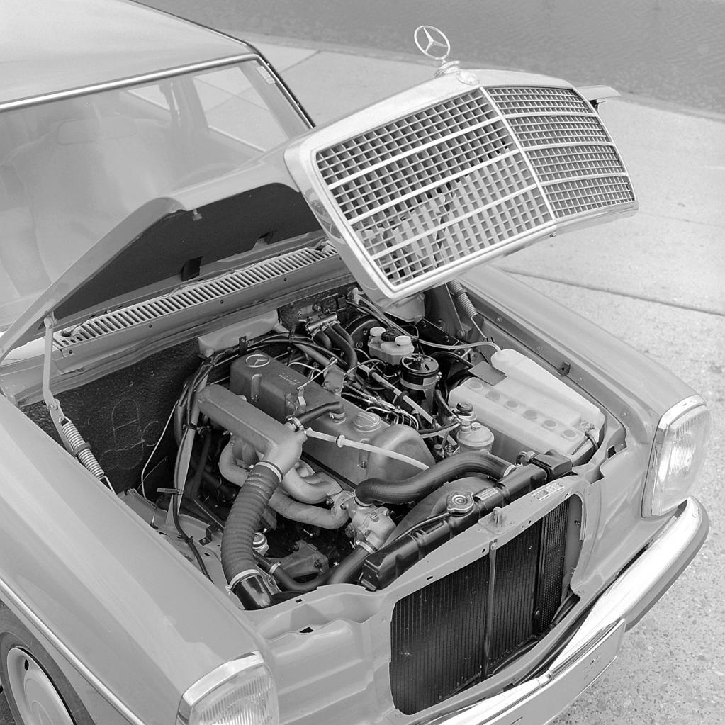 Mercedes 240 D 3.0: Vor 40 Jahren kam die