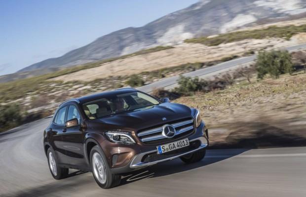 Mercedes GLA - Schon ab 2017 auf neuer Plattform