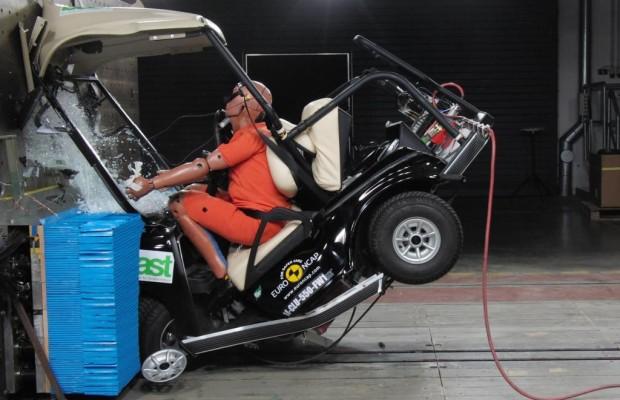 Micromobile im Crashtest - Zu klein, um sicher zu sein