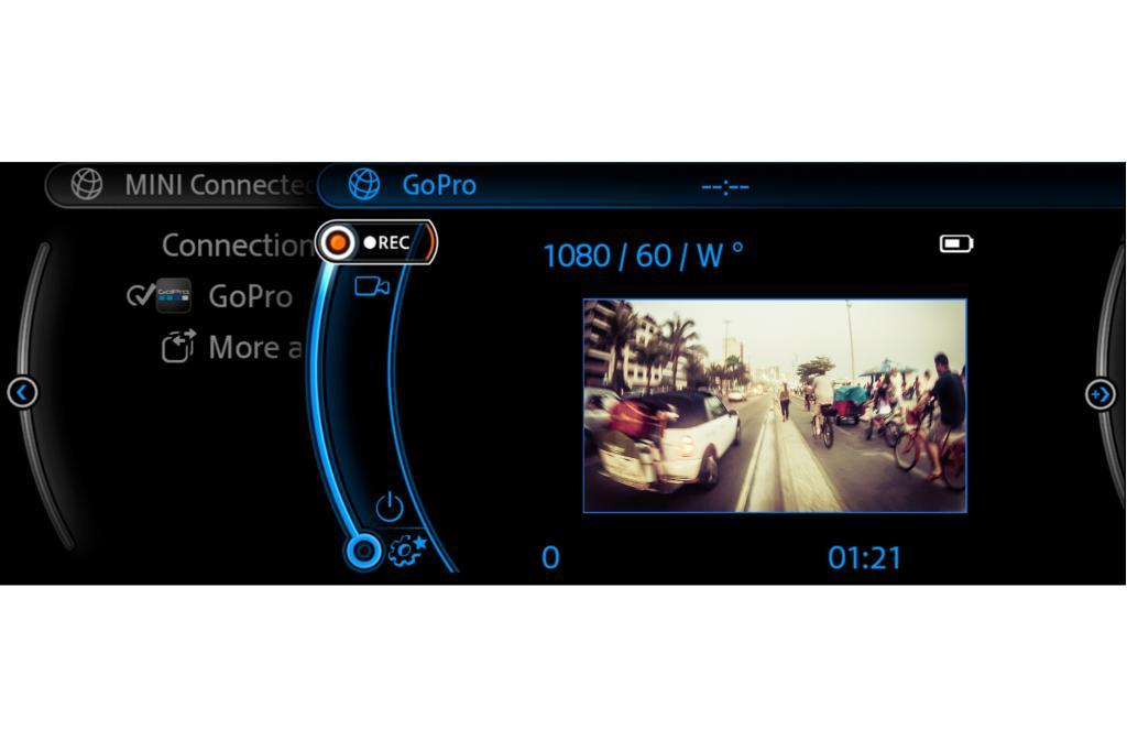 Mini mit Kamera-Bedienung - Filmen wie ein Weltmeister