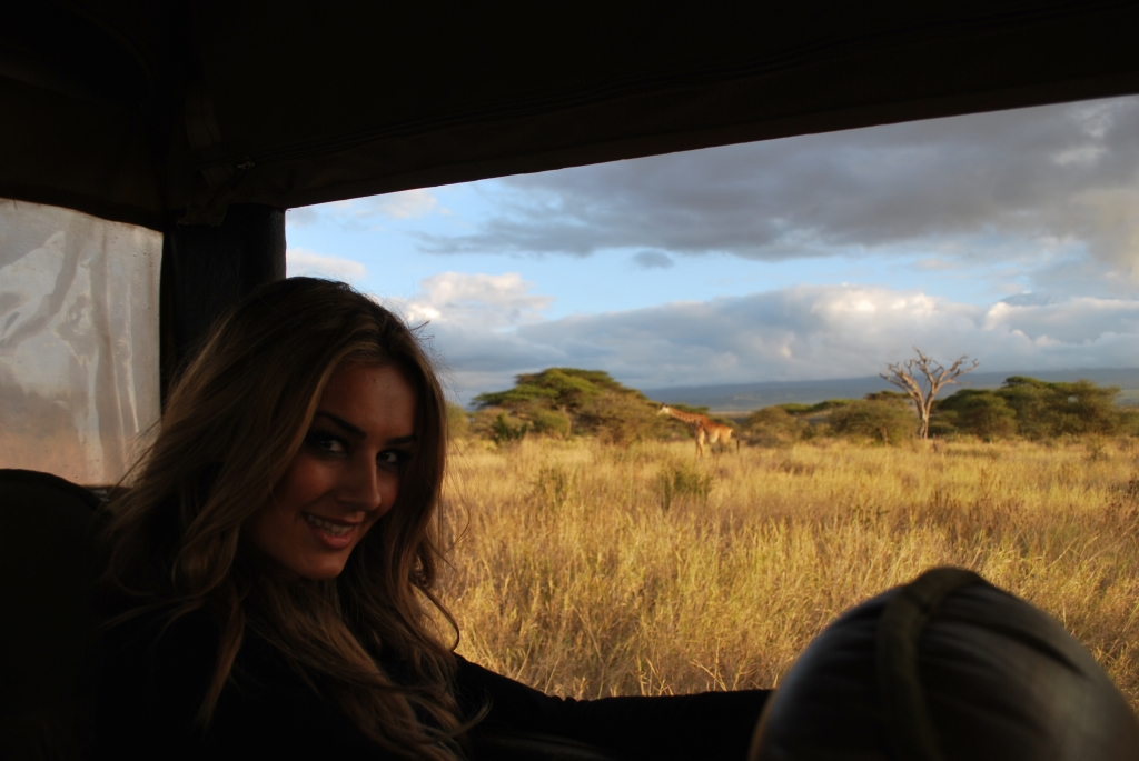 Miss Tuning auf Foto-Safari in Kenia - Kalendershooting mit afrikanischem Flair