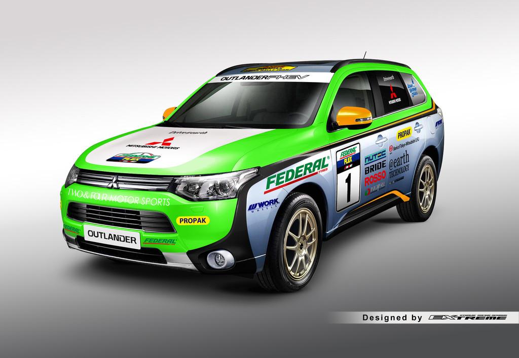 Mitsubishi Plug-in Hybrid Outlander startet wieder bei Cross-Country-Rallye