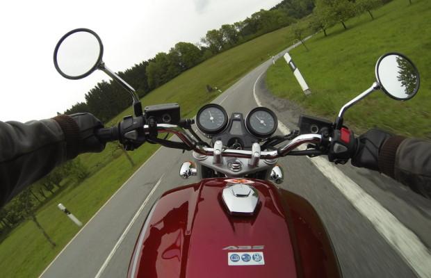 Motorradabsatz im Mai leicht rückläufig