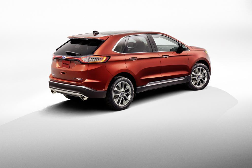 Neue SUV-Spitze: Ford kündigt Premium- Edge bei uns für drittes Quartal 2015 an