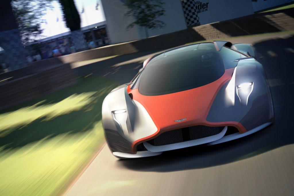 Ob bei der Gestaltung Designelemente künftiger Aston-Marton-Modelle eingeflossen sind, ist nicht bekannt.