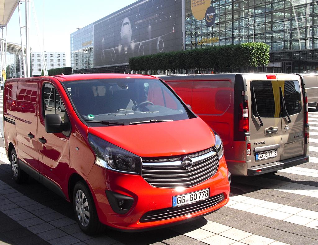 Opel Vivaro: Rund 90 Prozent der Kunden sind Gewerbetreibende.