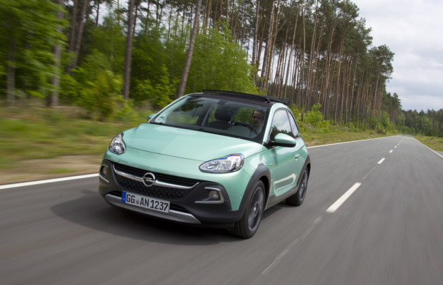 Opel testet Adam Rocks in Dudenhofen