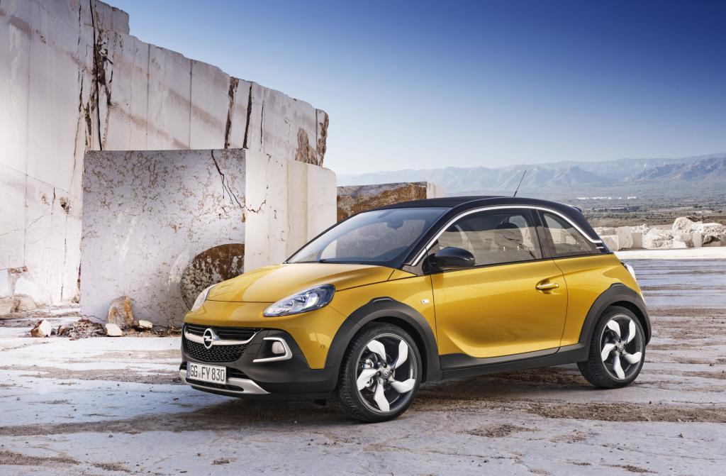 Opel zeigt den Adam Rocks