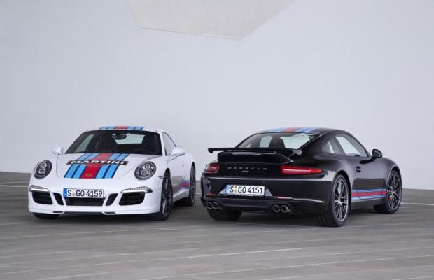 Porsche 911 als Martini-Edition - Rennanzug als Überzieher
