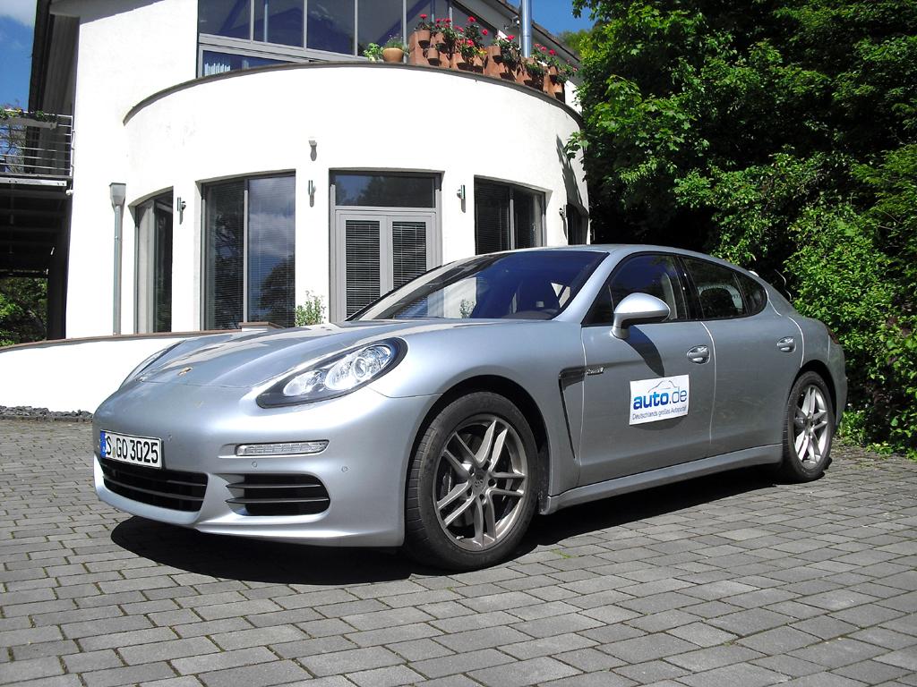 Porsche Panamera, hier als Diesel mit 221/300 kW/PS.