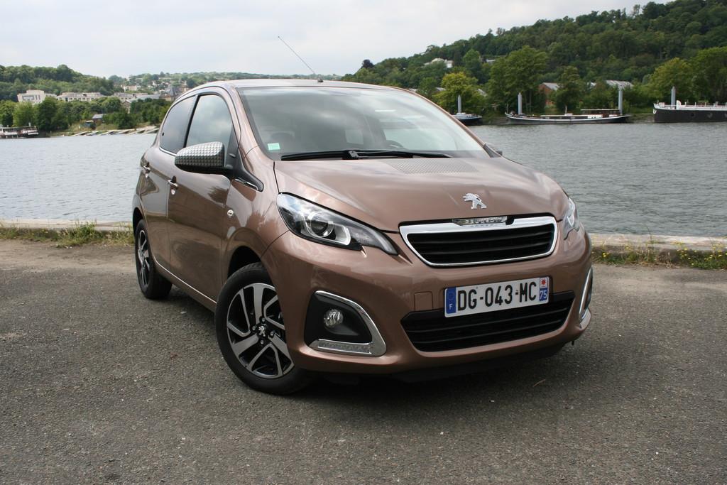 Pressepräsentation Peugeot 108: Die Familie ist komplett