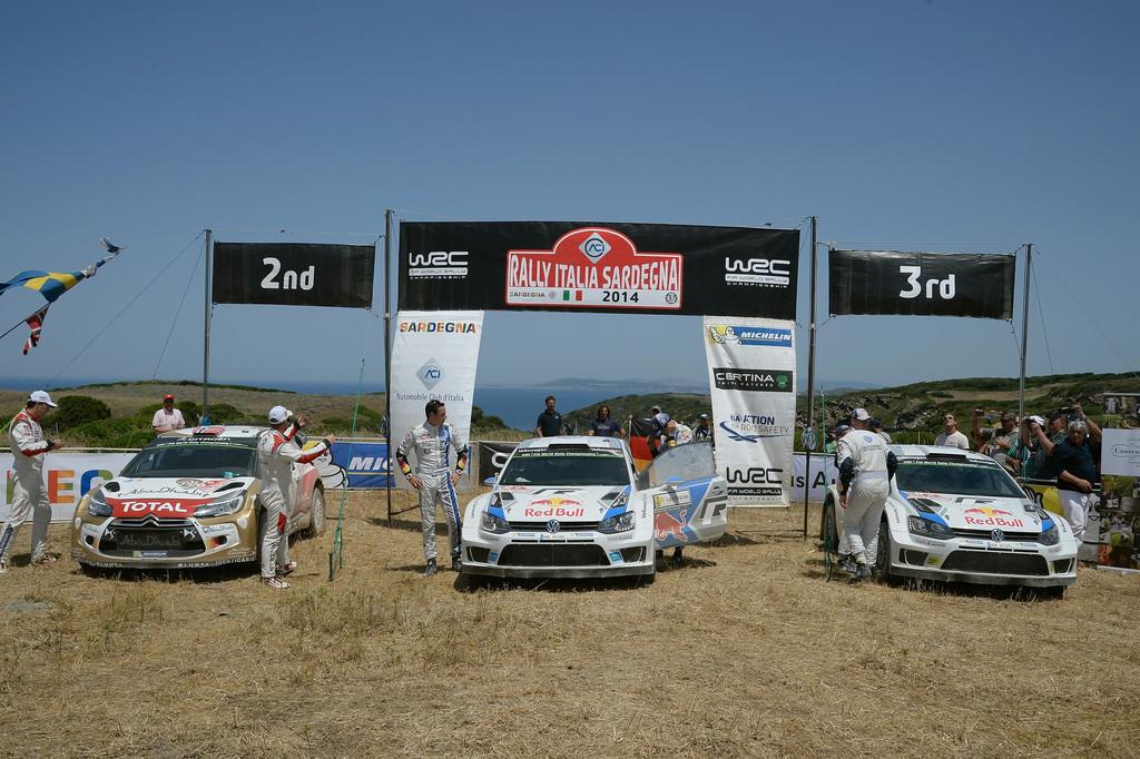Rallye Sardinien: Hitzeschlacht