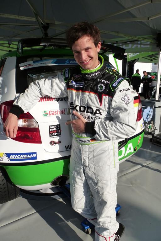 Rallye-Showcar als Promille-Fahrsimulator