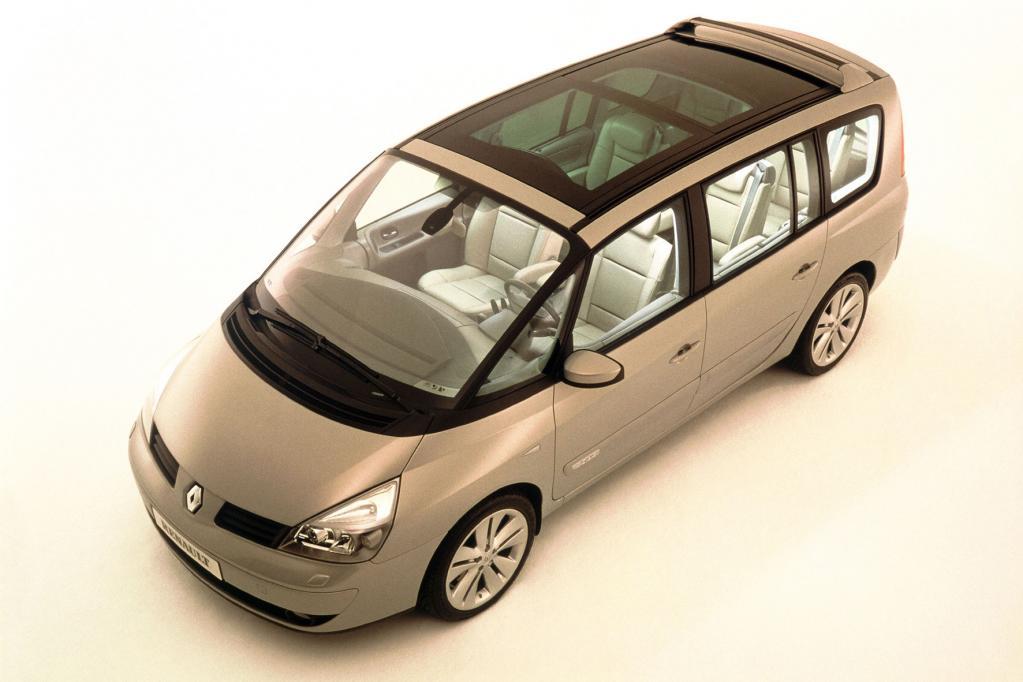 Renault Espace - ein gläsernes Raumschiff wird 30