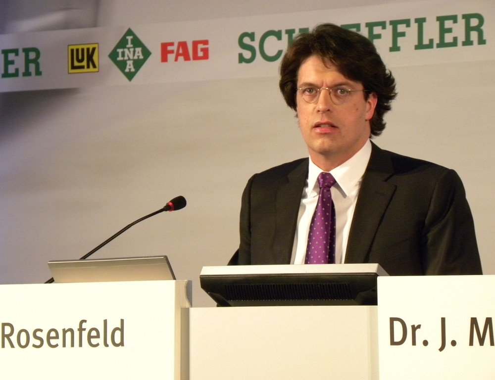 Rosenfeld bleibt Schaeffler-Vorstandschef