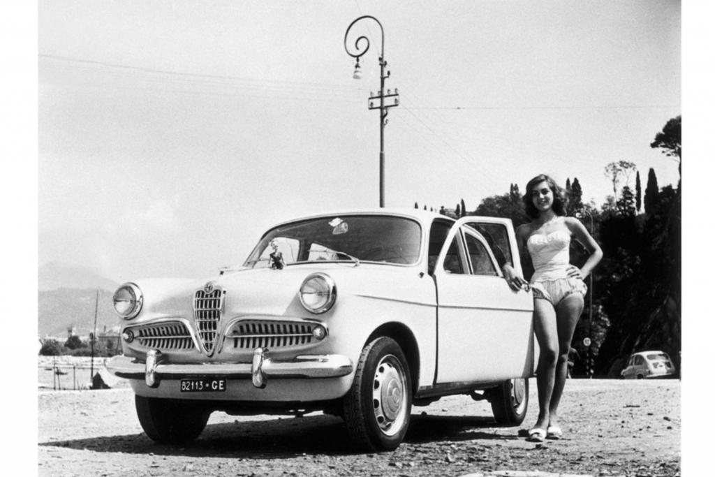 SPOTPRESS: Tradition: 60 Jahre Alfa Romeo Giulietta   - Liebe, Lust und Lottospiel