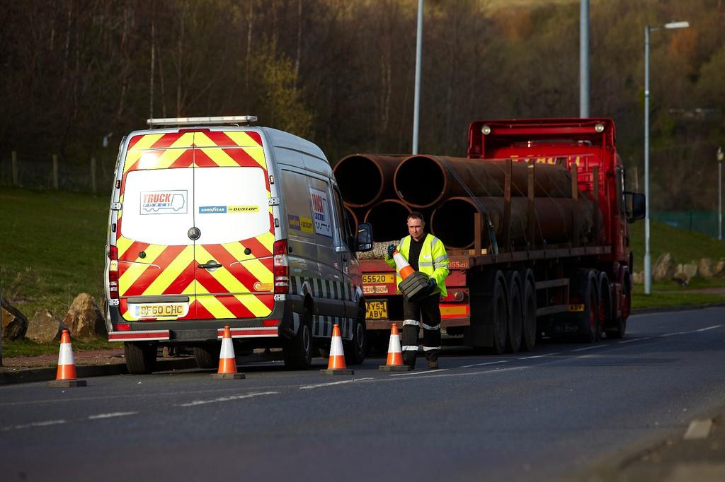 Schnelle Lkw-Pannenhilfe von Goodyear Truck-Force-Netzwerk