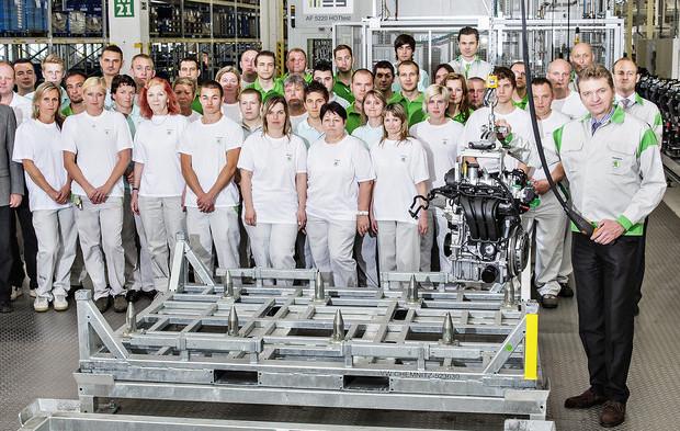 Skoda produziert neue Dreizylinder