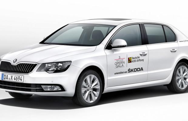 Skoda unterstützt Operngala für die Aids-Stiftung