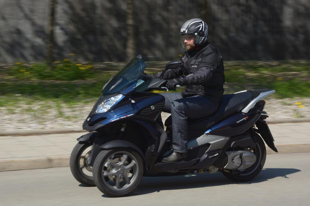 Test Dreiradroller Quadro 350 S - S geht noch flotter