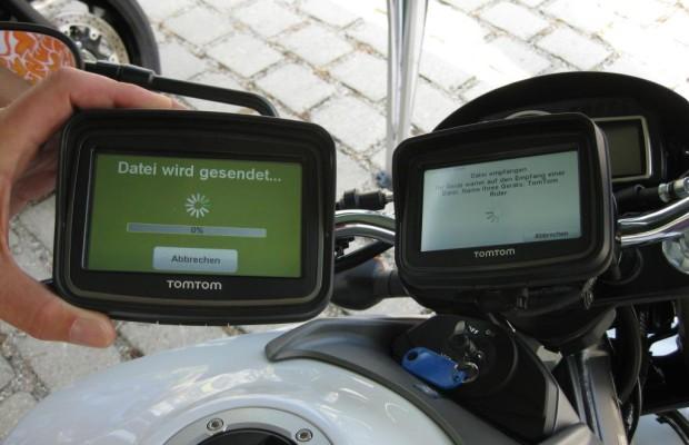 TomTom Rider findet schnell die schönsten Strecken
