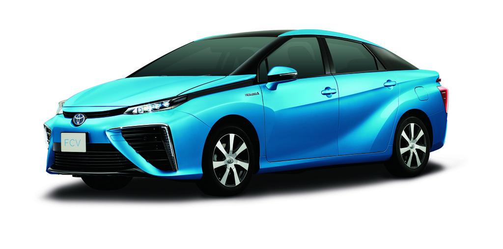 Toyota-Brennstoffzellenfahrzeug kommt 2015