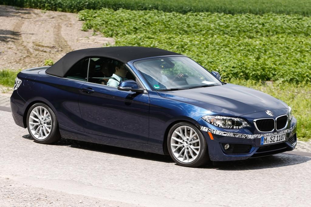 UPDATE !!!! Erwischt: Erlkönig BMW 2er Cabrio in voller Pracht