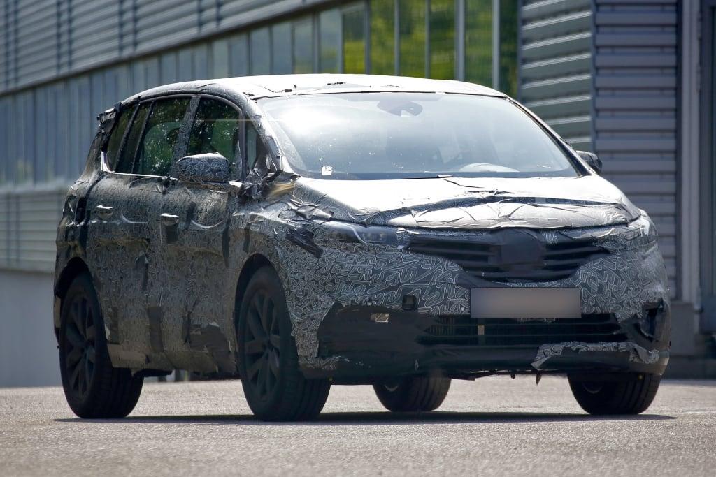Update!!! Erwischt: Erlkönig Renault Espace – Ein Franzose entblättert sich
