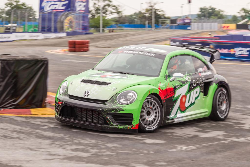 VW Beetle für den Rallyecross