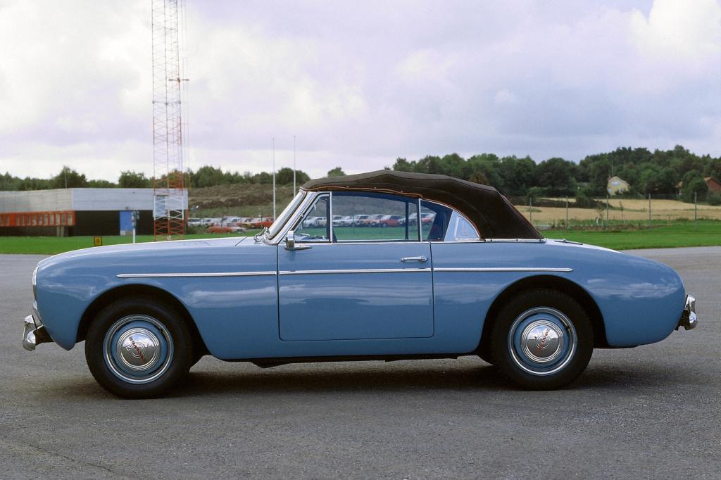 Volvo Sport P 1900 Jahr 1956 und 1957