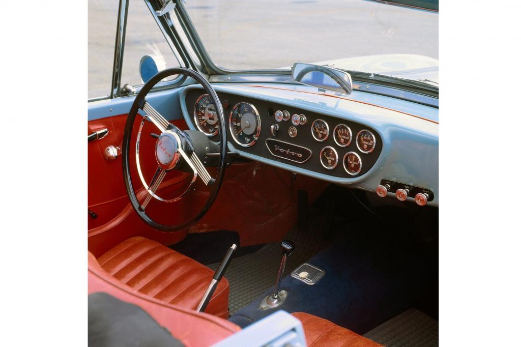 Volvo Sport P 1900 im Jahr 1956 und 1957