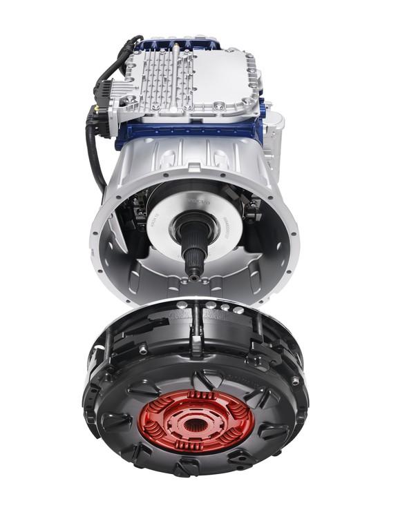 Volvo bringt das Doppelkupplungsgetriebe in schwere Lkw