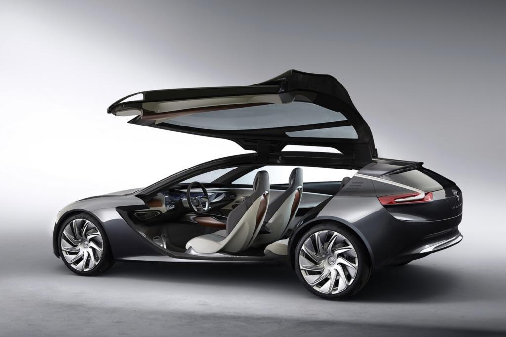 Wie das Opel-Design in Zukunft aussehen könnte, zeigt die Monza-Studie von der IAA 2013